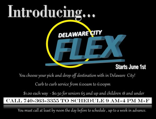 Delaware City FLEX Service–Beginning June 1, 2020