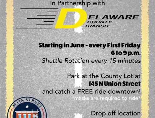 1st Friday Shuttle is back!