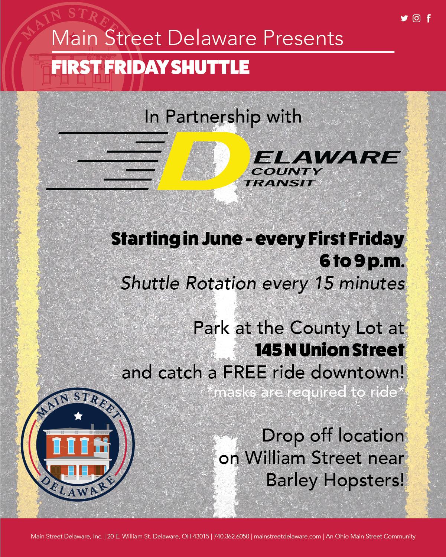 First Friday Shuttle